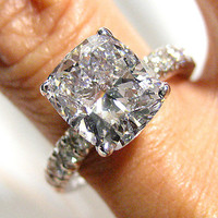 470ct Antique Vintage Cushion Cut Diamond by TreasurlybyDima