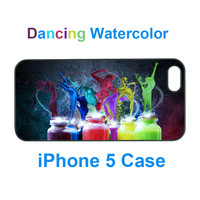 Iphone 5 Case--dancing Watercolor, .. on Luulla