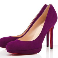 Christian Louboutin New Simple 120mm Amethyste Pumps