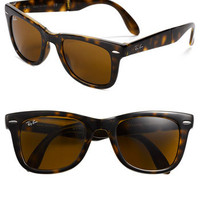 Ray-Ban 'Folding Wayfarer' 50mm Sunglasses | Nordstrom
