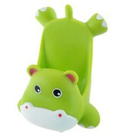 Amazon.com: Gino Mobile Phone Green Plastic Cartoon Hippo Shape Stand Holder: Cell Phones &amp; Accessories
