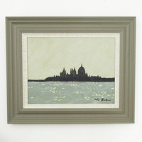 Limited Edition oil painting Santa Maria Venice