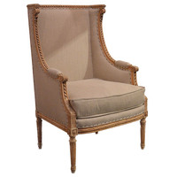 1STDIBS.COM - Found - French wingback chair