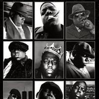 Notorious B.I.G. Collage Music Poster Print - 24x36 Poster Print, 24x36 Music Poster Print, 24x36