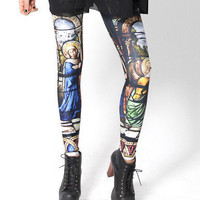 BLACK MILK CATHEDRAL LEG...