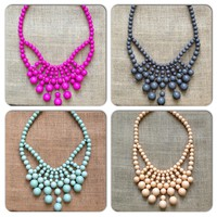 Cascade Bubble Necklace