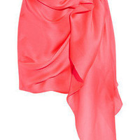 Roksanda Ilincic Roselite draped silk-gazar skirt - 65% Off Now at THE OUTNET
