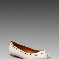 Marc by Marc Jacobs Mouse Ballerina Flat in Oatmeal from REVOLVEclothing.com