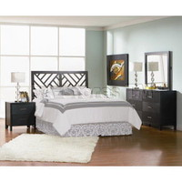 Grove 4 Pcs Bedroom Set (Headboard, Nightstand, Dresser and Mirror) - Coaster Co. | Bedroom sets