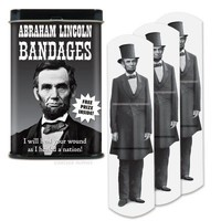Abraham Lincoln Bandages - Archie McPhee & Co.