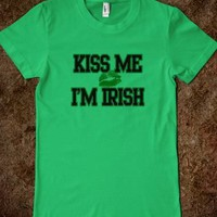 Kiss Me I'm Irish T-Shirts, Funny St Patricks Day Shirts - St. Patricks Day T-Shirts and Irish T-Shirts
