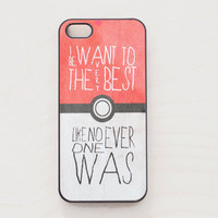 Pokeball iPhone 5 4 4S Case iPhone 4 New Pokemon Cute Kawaii