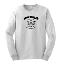 Amazon.com: Mac Miller Knock Knock Rap T-SHIRT HIP HOP Long Sleeve Tee: Clothing