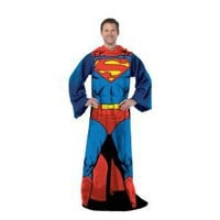 Amazon.com: Superman Comfy Throw Blanket With Sleeves: Home & Garden