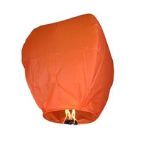Orange Sky Fire Chinese Lantern Flying Paper Wish Wishing Balloon for Wedding Festival Xmas Christm