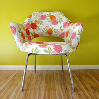 Mid Century Chair Vintage Saarinen Executive by CircaFurniture