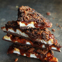 Edible Holiday Gifts: Whiskey, Caramel, Marshmallow and Bacon Bark