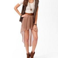 High-Low Chiffon Skirt | FOREVER 21 - 2030187198