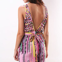 Check Palazzo Dress - Cute Dresses at Pinkice.com