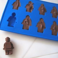 Minifigure Ice Cube Tray or Candy Mold ----for Lego Lovers!: Kitchen & Dining