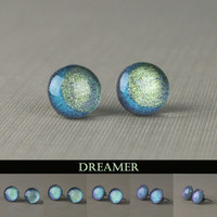 Dreamer Moon Post Earrings