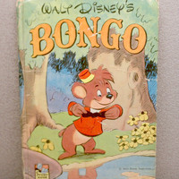 RARE 1948 Walt Disneys Bongo Childrens Book by VintageWoods