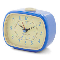 It's About Timeless Alarm Clock | Mod Retro Vintage Wall Decor | ModCloth.com