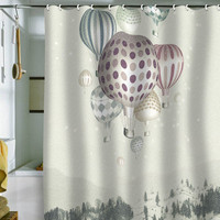 DENY Designs Home Accessories | Belle13 Winter Dreamflight Shower Curtain