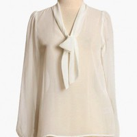 nicola chiffon blouse in white : Tops at ShopRuche.com, Vintage Inspired Clothing, Affordable Clothes, Eco friendly Fashion