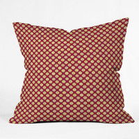 DENY Designs Home Accessories | Sabine Reinhart Sameena Red Throw Pillow
