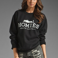 Brian Lichtenberg Homies Sweatshirt in Black from REVOLVEclothing.com