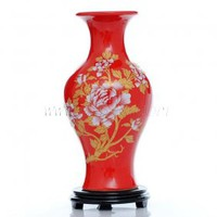 Red Modern Vase Decoration [UF-PV054] - $45.00 : Buy Unique Craft Gifts From Best Online Shop, Ufingo