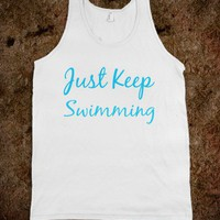just keep swimming - glamfoxx.com