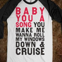 Baby You A Song (Baseball Shirt)