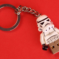 4GB LEGO Stormtrooper USB memory stick by brickheads on Etsy