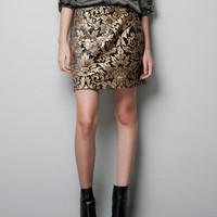 JACQUARD MINI SKIRT - Skirts - Woman - ZARA United States