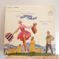 1965 The Sound of Music Vintage Vinyl Record by VintageWoods