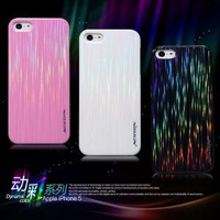 Nillkin Case Dynamic Color case For Apple iphone 5 with screen protector