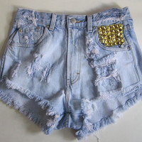 Inner Pocket Studded Short