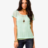 Southwestern Crocheted Top