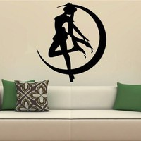 Sailor Moon Wall Mural Vinyl Sticker Kids Room S. 1595