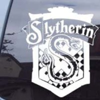 Harry Potter Slytherin Crest Car Ipad Laptop Vinyl Decal Sticker