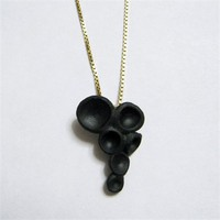 Oohhh... Black Porcelain Necklace by Lok Ming Fung at Seek & Adore