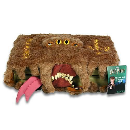 Harry Potter Monster Book of Monsters Plush - NECA - Harry Potter - Plush at Entertainment Earth