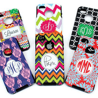 iPhone 5 Otterbox Commuter Case Monogrammed