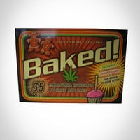 'Baked: 35 Marijuana Munchies To Make and Bake' Cook Book in Fun & Games Books