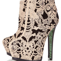 **Lace Wing Ankle Boots by CJG - View All  - Shoes