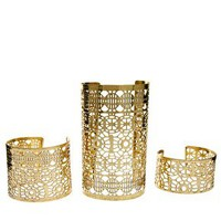 Three-Pack Cut Out Cuff Bracelets