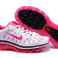Nike Air Max+ 2011 - Women&#x27;s - Running - Shoes - Black/Cherry