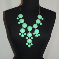 Turquoise Bubble Necklace from Monica's Closet Essentials